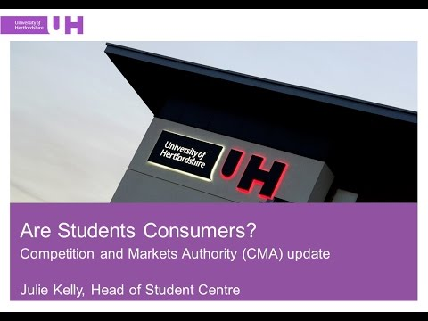 Are Students Consumers?