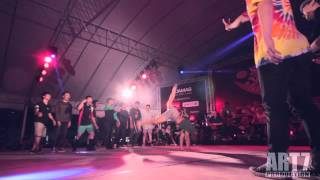 Lao Bang Fai (Laos) VS  VS  S.I.N.E  ( Vietnam ) Quarter Final  Battle of the year 2013 South asia