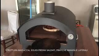 FORNO BRAVO VIDEO COTTURA PIZZA MARGHERITA SENZA TAGLI