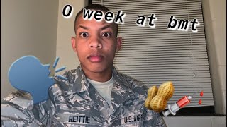 Zero & First week at BMT! Air Force