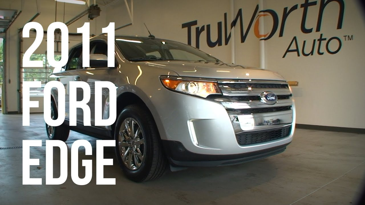 Ford Edge Limited Myford Touch System Backup Camera Truworth Auto