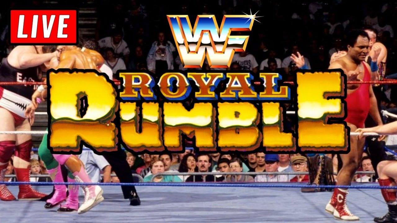 🔴 WWE Royal Rumble 1993 Live Stream Reaction Watch Along