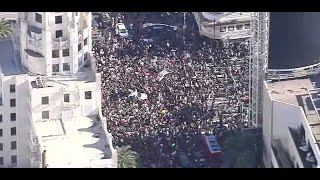 Estimated 10,000 Protesters March in Hollywood George Floyd Protest    NBCLA