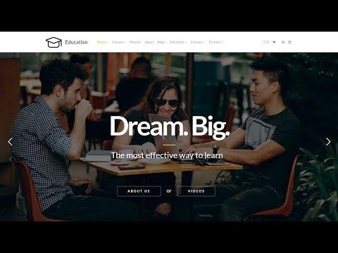 Education WordPress Theme - Educational Website Builder