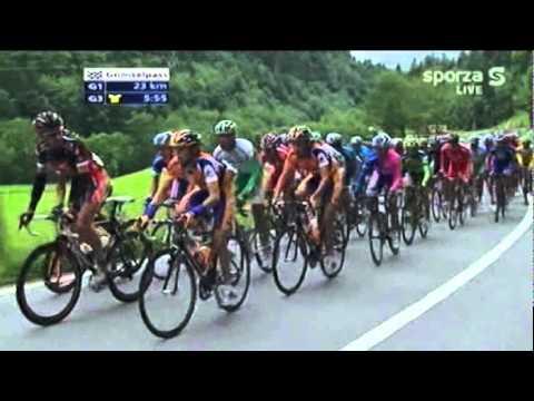 Tour de Suisse 2007 - Climb of the Grimselpass (1/5)