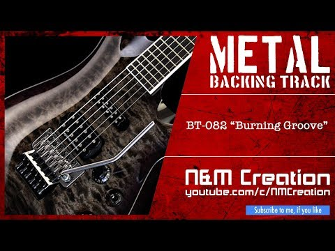 METAL Backing Track in E Flat Minor (Hard Rock, High Speed, Syncopation)