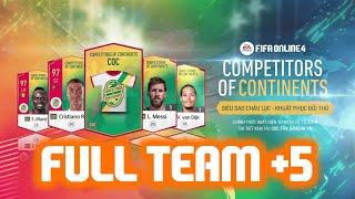 FIFA Online 4 | Thử nghiệm team COC full +5 cực PHÊ!! | Phần 1
