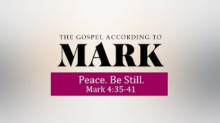 Gospel of Mark,  Mark 4:35-41