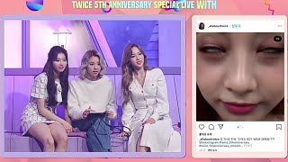 TWICE laugh at their Memes (5th Anniversary Special live)