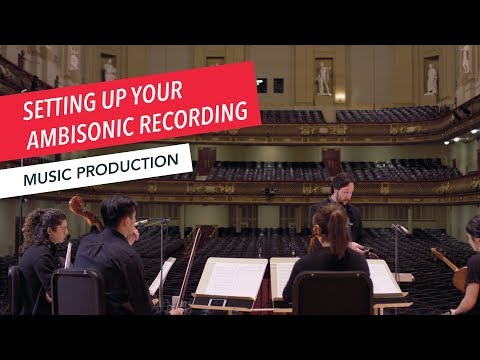 How to Set Up Your Ambisonic Recording   360°   VR   Spatial Audio   Recording   Part 4/7