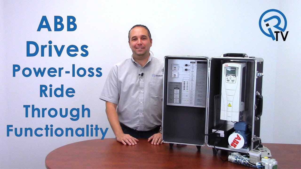 ABB Drives: Power-loss ride through Functionality