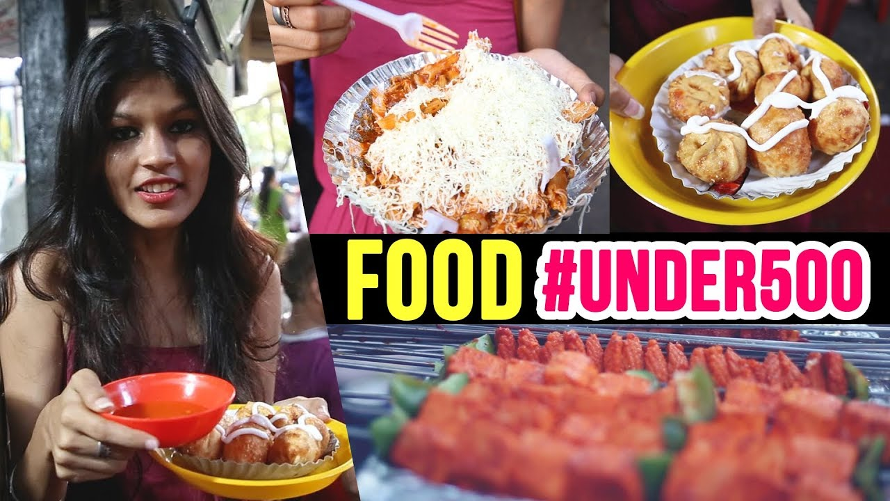 Food #UNDER500 Ep02 | Street Food | KHAU GALLI | Mumbai Street Food | Lifestyle | Pinkvilla