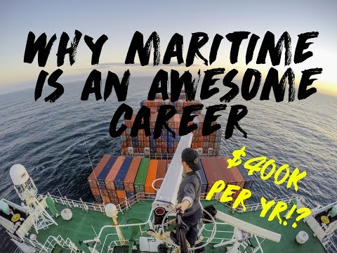 10 Reason why Maritime is AWESOME ( And such a great career!