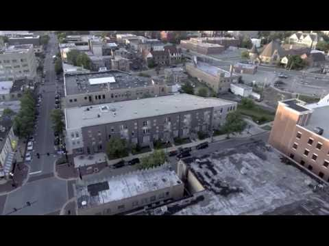 Downtown Elgin aerial