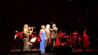Andrea Bocelli & Heather Headley  When I fall in love  Dec.10th 2014 in Houston