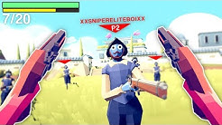 Turning TABS Into A FIRST PERSON SHOOTER Was An EPIC BATTLE In Totally Accurate Battle Simulator
