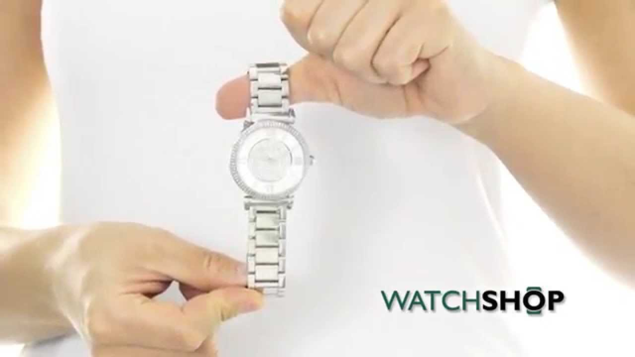 a0b0bd435faf Michael Kors Ladies  Catlin Watch (MK3355) - YouTube