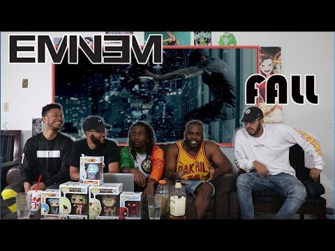 Eminem - Fall (Official Music Video) REACTION/REVIEW