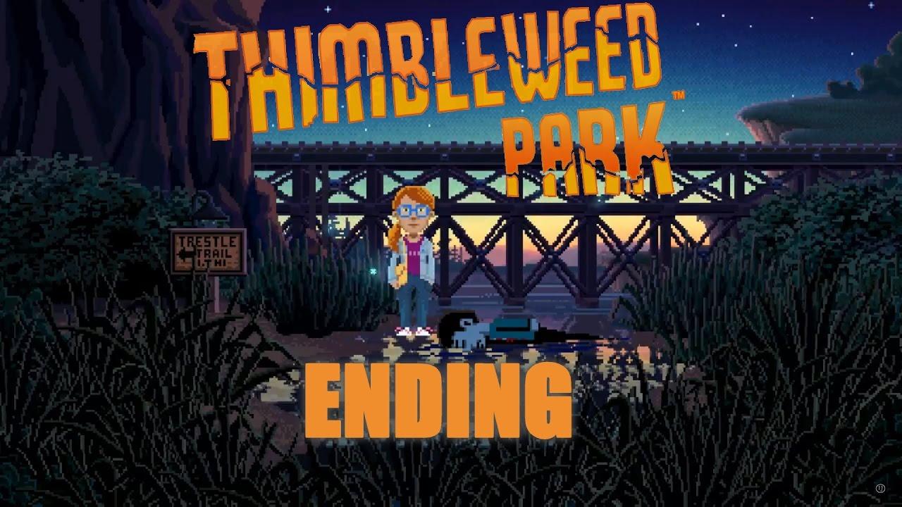 Thimbleweed Park Walkthrough