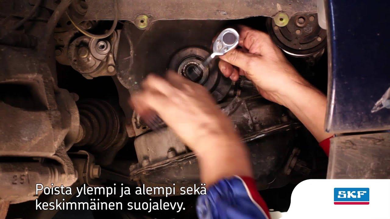 Toyota avensis diesel jakopää