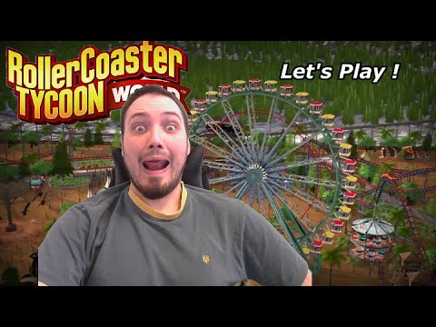 "[ FR ] Rollercoaster Tycoon World Let's Play : Kebab Park "" Nouveau Concept ! "" #04"
