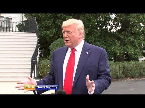 President Trump calls on Ukraine, China to investigate Joe Biden - EWTN News Nightly