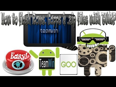How to flash Roms, Gapps packages & .zip files with TWRP, Play Store Fix!
