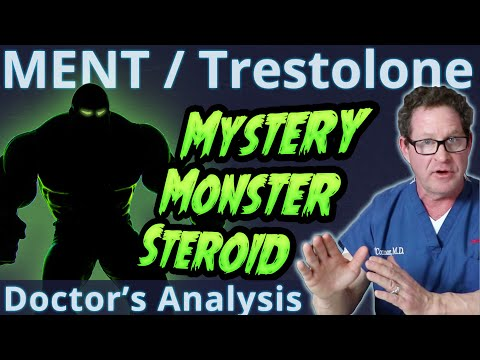 MENT / Trestolone - Mystery Monster Steroid - Doctor's Analysis
