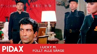 Gambar cover Pidax - Lucky M. füllt alle Särge (1967, Jess Franco)