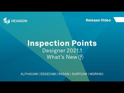 Inspection Points | ALPHACAM Designer 2021.1