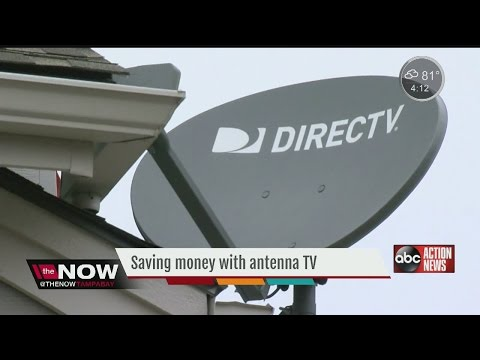 Saving money with antenna TV