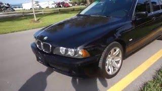 2003 BMW e39 525i Sport Black Negro deportivo a la venta Espanol