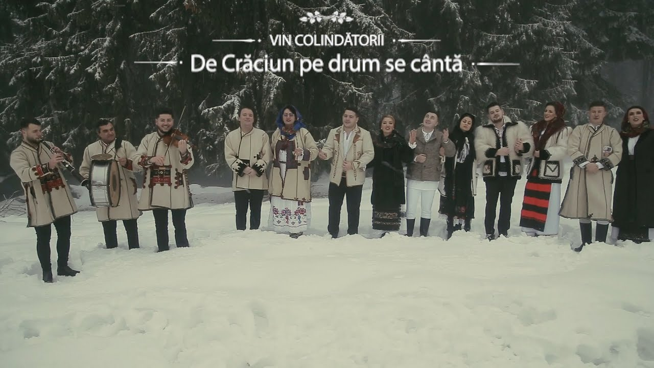 VIN COLINDĂTORII - De Crăciun pe drum se cântă - (Oficial Video) - COLINDA