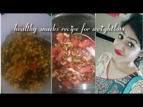 Healthy snacks recipe for weight-loss – sprouts. Lose weight fast without exercise.