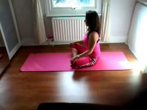 Sarah Smart Steps  Basic yoga warm up