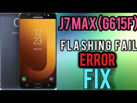 Samsung J7 MAX (sm-g615f/ds) Frp & oem on, flashing error Fix Done