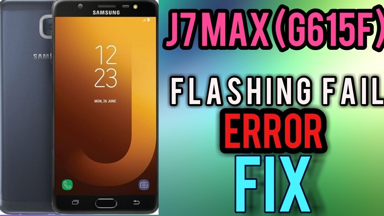 Samsung J7 MAX (sm-g615f/ds) Frp & oem on, flashing error Fix Done by FRP  SAM