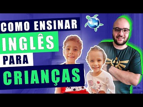 Como ensinar inglês para crianças #01