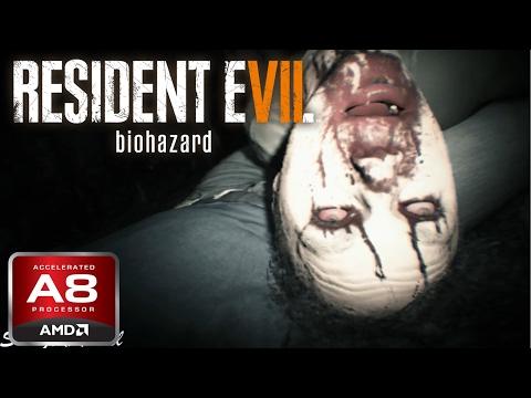 AMD A8-7600 APU Gaming - Resident Evil 7 Biohazard