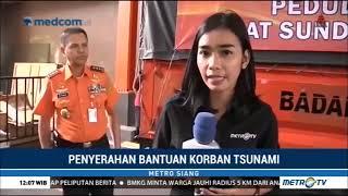 Basarnas Kirim Bantuan untuk Korban Tsunami Selat Sunda