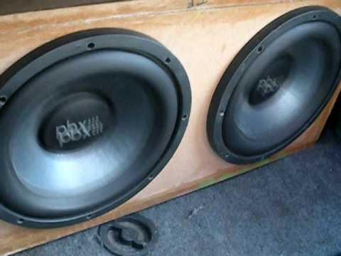Bass PBX Soundstream Track 6, Woofer Excursion Test by k3n12ock