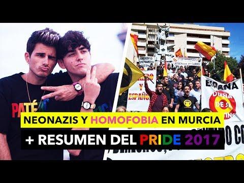 Pride 2017 + Neonazis y ataque homófobo en Murcia - The Tripletz