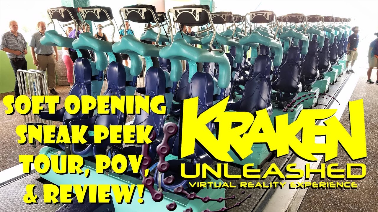 Download Exclusive First Look: Kraken Unleashed Soft Opening Tour, Pov, Review, & More SeaWorld Orlando!!!