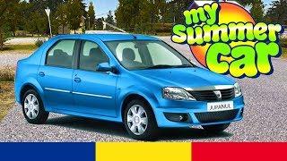 Dacia Logan in My Summer Car Romania