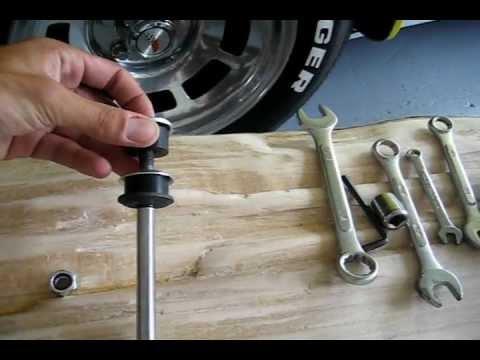 C3 Corvette Front Shock Install Bilstein Sport Youtube