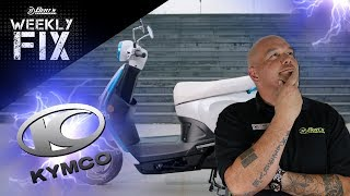 """KYMCO is revolutionizing the electric scooter world with """"Ionex"""", Triumph """"ATLAK"""" Tour, & More!"""