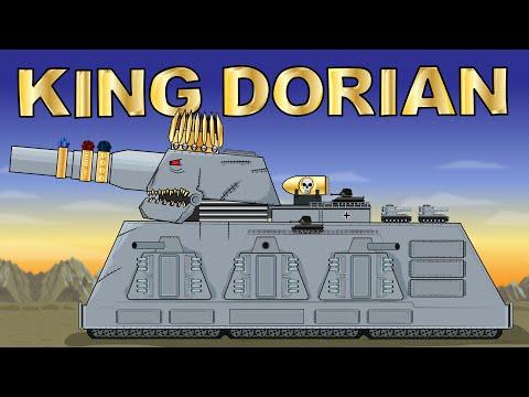 """""""King Dorian"""" - Cartoons about tanks"""