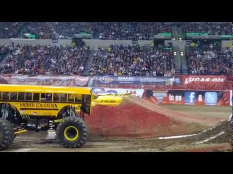 Freestyle Monster Jam Higher Education Indianapolis January 26 2013