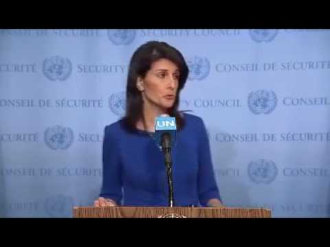 2-21-2017: Nikki Haley Puts UN Security Council In Its Place
