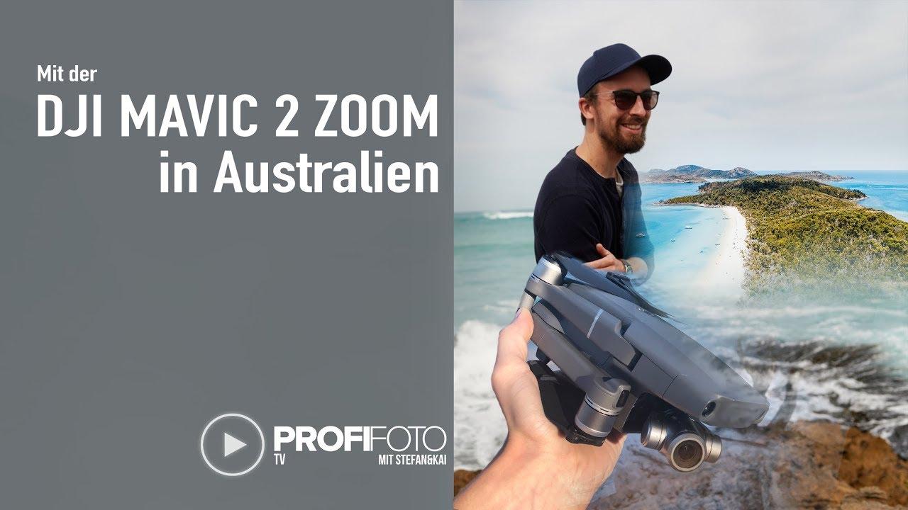 Mit der DJI Mavic 2 Zoom in Australien. Ist es doch die bessere Wahl ?